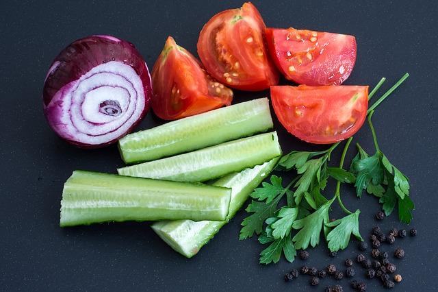 zelenina a bylinky